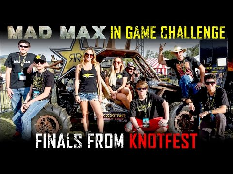 Mad Max In-Game Challenge Finals from Knotfest!