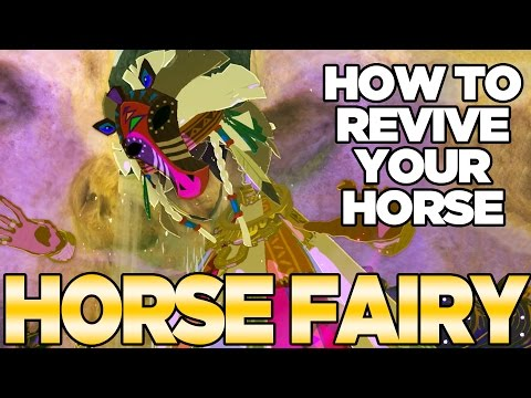 How to Revive Your Horse, The Great Horse Fairy, Malanya, in Breath of the Wild