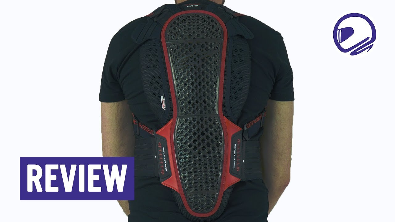 Alpinestars Motorcycle Riding Nucleon KR-3 Back Protector
