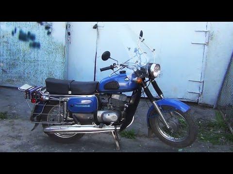 Советский мотоцикл ВОСХОД 2М