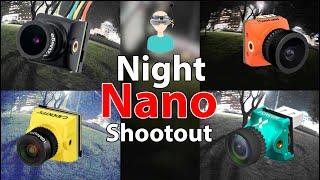 YouTube動画:Nano FPV Cameras - Night Shootout