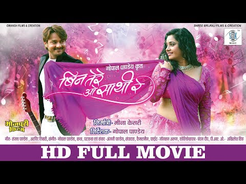 Bin Tere O Saathi Re | Full Bhojpuri Movie | Gaurav Jha, Ritu Singh