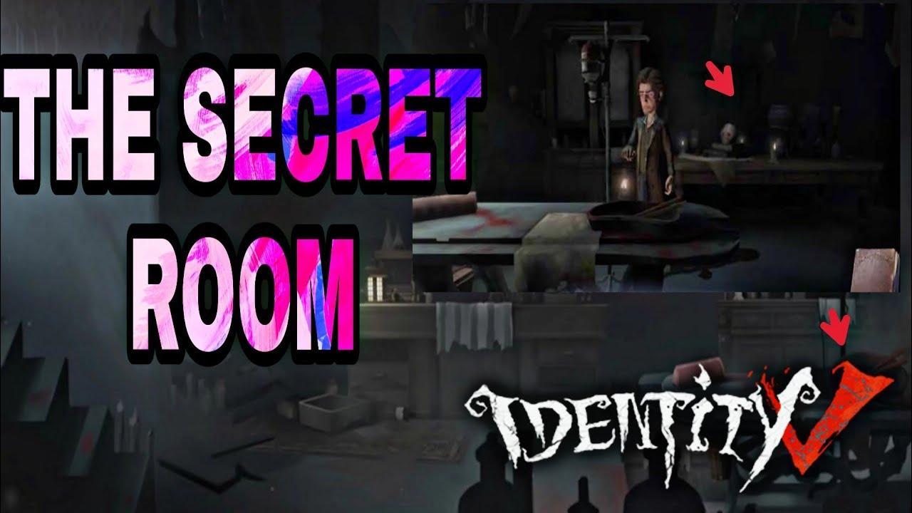 IDENTITY V THE SECRET ROOM (DETECTIVE), IDENTITY V CUARTOS SECRETOS EN EL  MENU PRINCIPAL