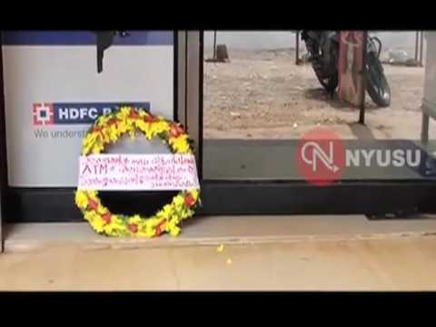 People In Kannur Mourn Sudden Death Of An Atm Place Wreath At The