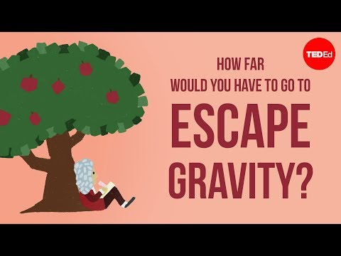 Video image: How far would you have to go to escape gravity? - Rene Laufer
