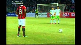 AC Milan Glorie VS Indonesia All Star 4 - 2 GOAL [ 9 February 2013 ]