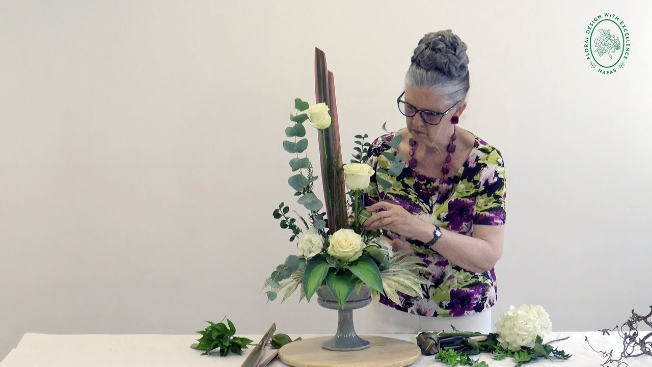 How To Make A Flower Arrangement For Your Home2 Youtube