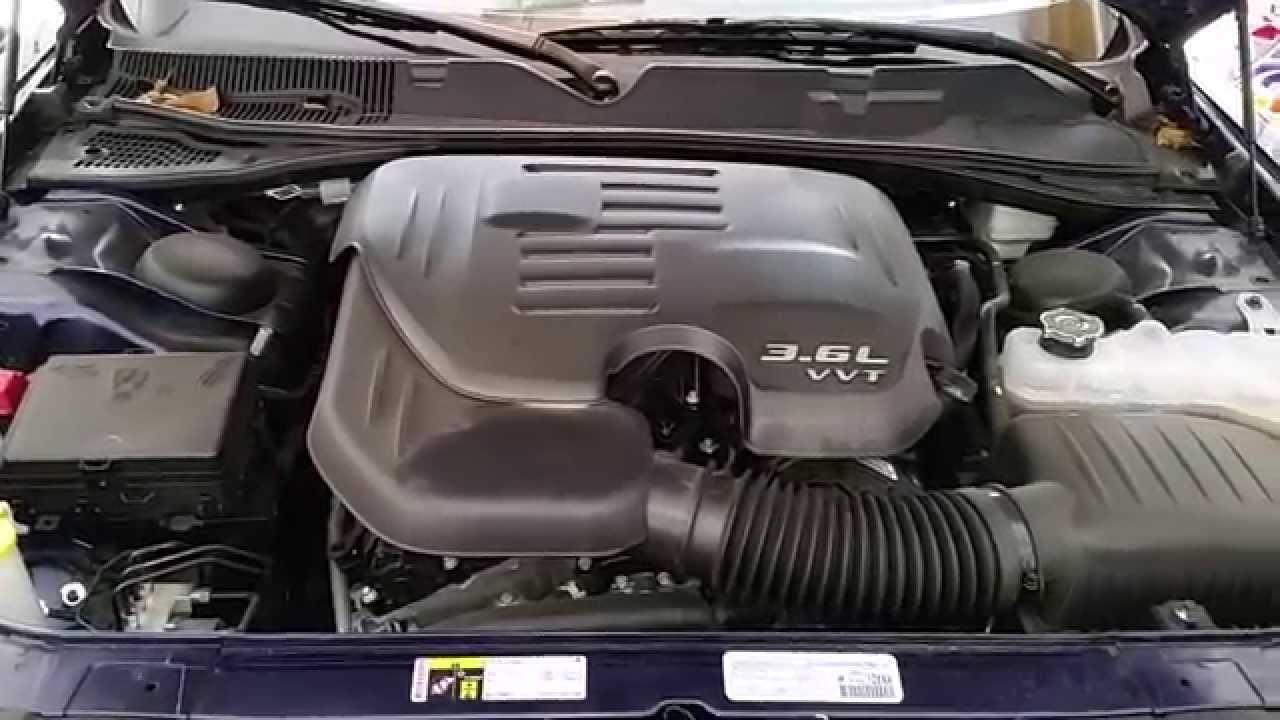 2015 Dodge Challenger Pentastar 3 6l V6 Engine Idling