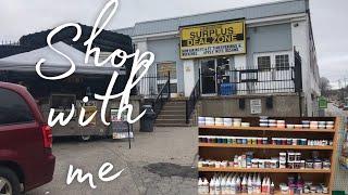 Surplus Store Shop with me