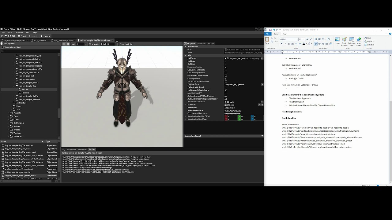 Frosty DAI Character Swap/Bundle Edit Tutorial