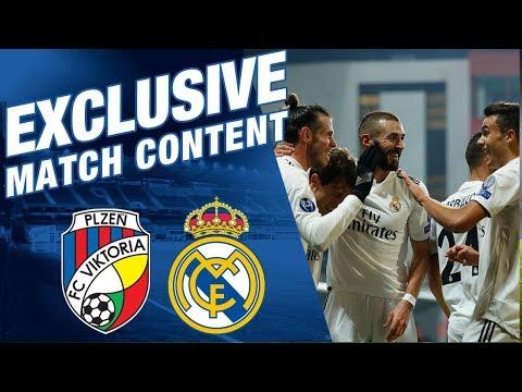 Viktoria Plzen 0 - 5 Real Madrid | EXCLUSIVE MATCH CONTENT