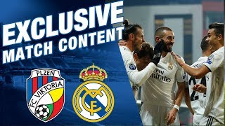 Viktoria Plzen 0 - 5 Real Madrid | EXCLUSIVE MATCH CONTENT