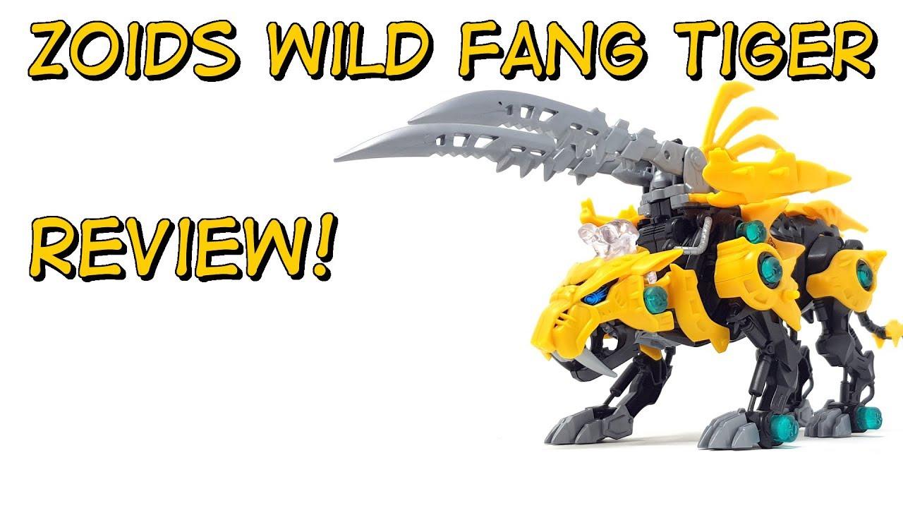 ZOIDS Zoids Wild ZW19 Fang Tiger