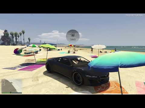GTA V-Zabawa na plaży