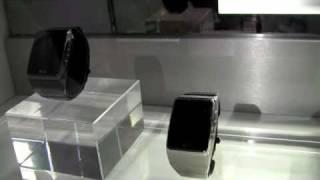lg gd910 wrist watch phone ces 1st look