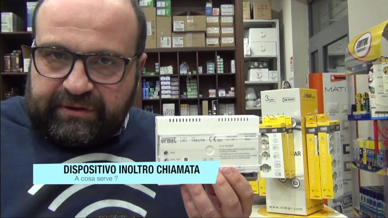Schema Elettrico Urmet 1130 : Cos e il dispositivo di inoltro chiamata urmet pillola n di