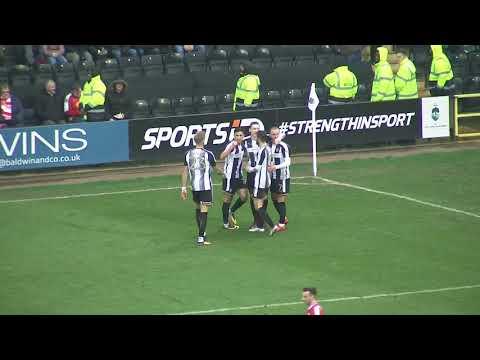 Notts County 4-1 Crewe Alexandra: Sky Bet League Two Highlights 2017/18 Season