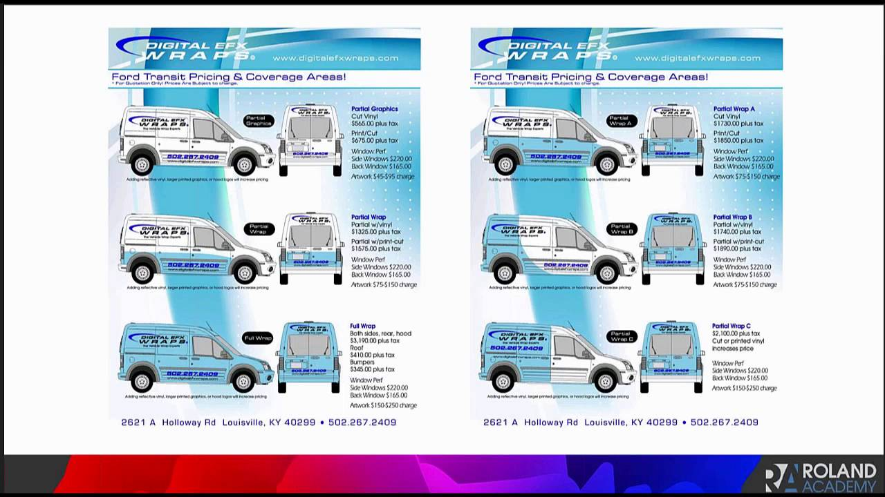 Expert Advice To Successfully Complete A Vehicle Wrap