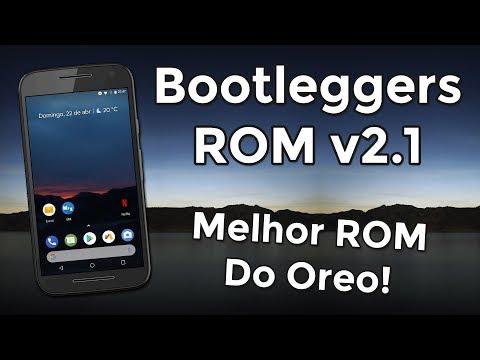 Bootleggers ROM v2 1   Android 8 1 0 Oreo   MELHOR ROM DO OREO? Performance  e Bateria!