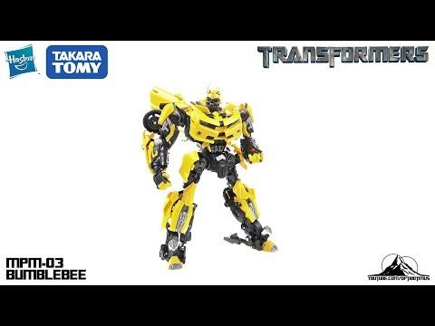 Optibotimus Reviews: Transformers Movie Masterpiece MPM-03 BUMBLEBEE