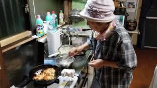 2019.06.02 ばぁちゃんの孫への料理教室 ばぁちゃん流 イトヨリのすり身のかき揚げ Part⑤ 4K 高画質