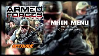 Main Menu - Armed Forces Corp ⌠GAME MUSIC⌡