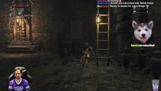 bloodborne bl4 all bosses w chalice dungeons pt 10