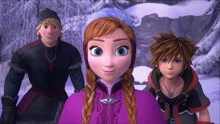 Kingdom Hearts III - L'histoire d'Anna et Elsa : La Reine des Neiges  ! - Episode 18