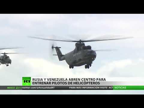 Rusia abre un centro para entrenar pilotos de helicópteros en Venezuela