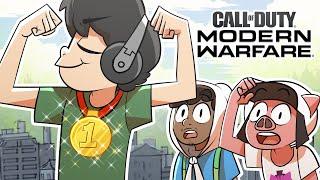 Shocking my friends with my best Modern Warfare moment yet!
