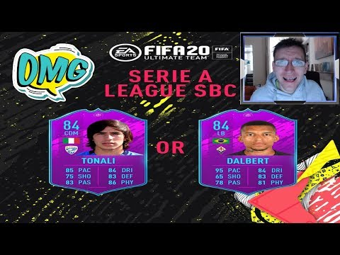 Seria A League SBC! UCL Marquee MatchUps Packs Opening! Fifa 20