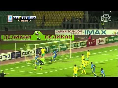 Все голы 12-го тура Чемпионата России по футболу сезона  2013-2014 г.г.
