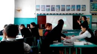 Видеофрагмент урока английского языка в 5 классе