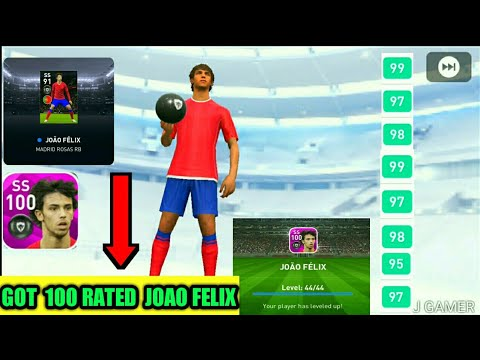 how-to-get-100-rated-joao-felix-from-madrid-rossa-rb-club-selection-||-pes-2020-mobile