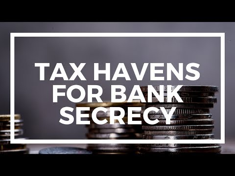 Top offshore tax havens for bank secrecy