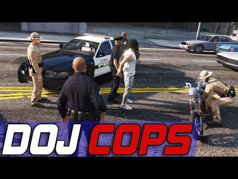 Dept. of Justice Cops #519 - Never Ending Crimes