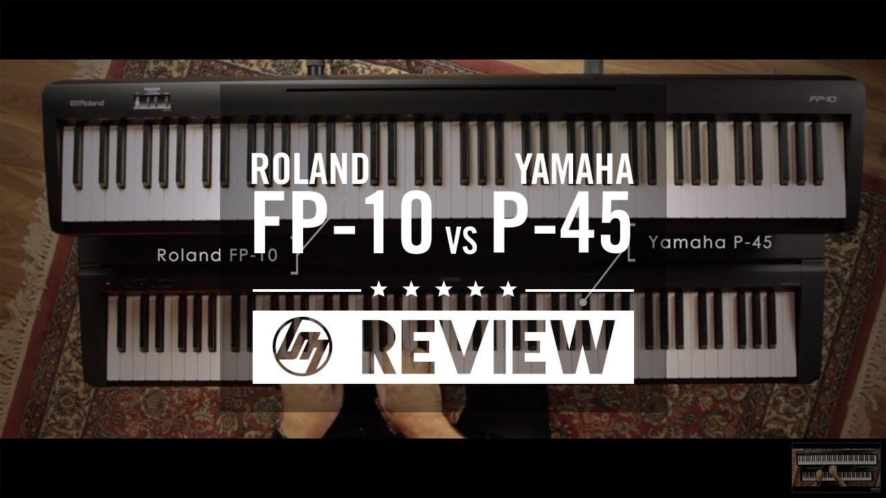 Roland FP-10 Review - Better Than The Yamaha P-45?