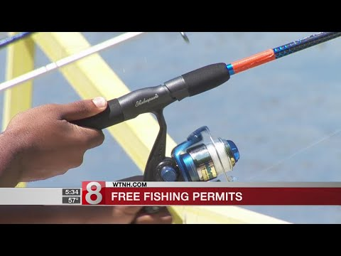Free fishing permits offered to unemployed, active military and veterans