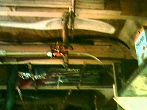 Roach cabin porch roof tour