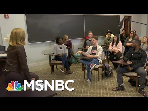 Otterbein University Students React To Lewd Donald Trump Tape | MSNBC