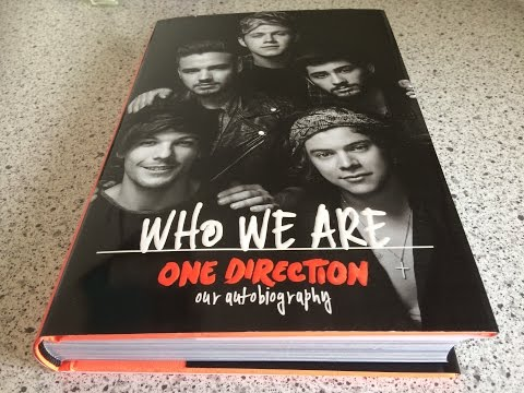 One Direction - Who We Are Book, Going Through The Pages