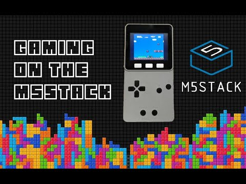Retro Gaming on the M5Stack Faces Game Kit