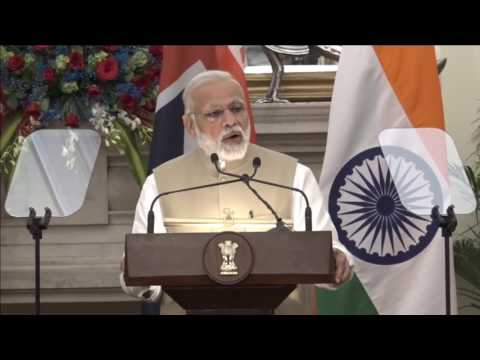 Exchange of Agreements & Press Statements: State Visit of PM of Australia to India (April 10, 2017)