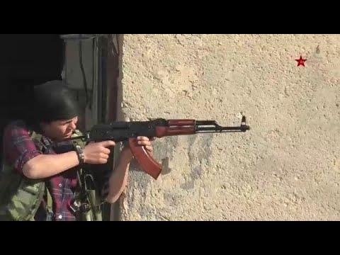 مقاومة مقاتلي وحدات حماية المرأة وقوات سورية الديمقراطية في سري كانية