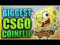 CSGO - BIGGEST COINFLIP EVER $20.000
