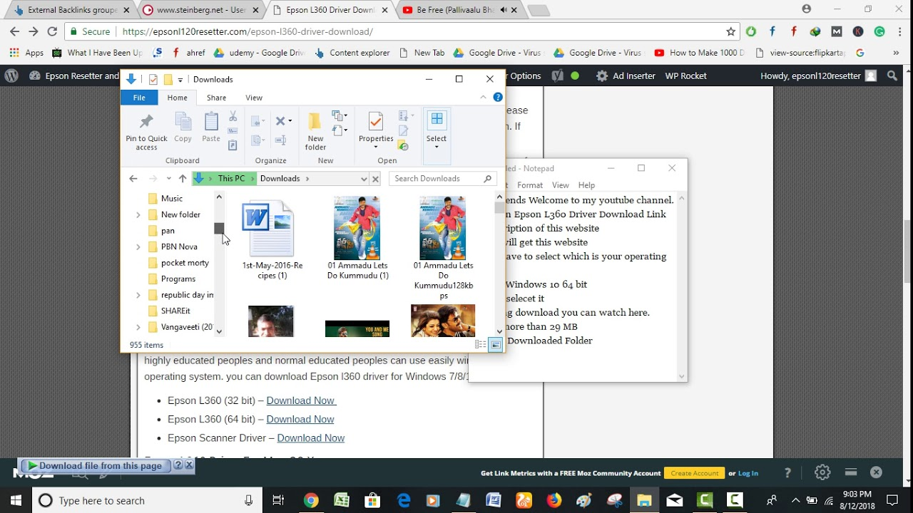 Download driver epson l360 untuk windows 10 | Epson Printer