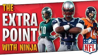 Fortnite - The Extra Point with Ninja! - New NFL Skins! - November 2018 | DrLupo