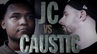 KOTD - Rap Battle - Caustic vs JC