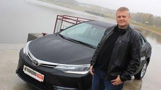 Новая Toyota COROLLA: тест-драйв Автопанорамы в HD качестве