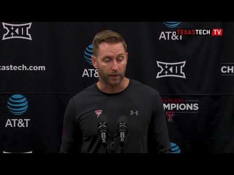 2018 Texas Tech Football Postgame Presser - Lamar